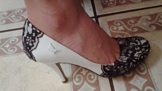 getlinkyoutube.com-Como decorar zapatillas blancas-How to decorate ur white shoes