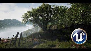 getlinkyoutube.com-Speed Level Design - Mountain Road - Unreal Engine 4