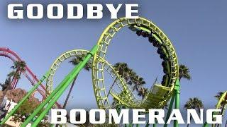 Knott's Berry Farm to Remove Boomerang Roller Coaster