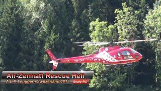 getlinkyoutube.com-A.L.K Flight-Day 2015 R/C Scale Model Air-Zermatt Ecureuile AS350 Rescue Helicopter