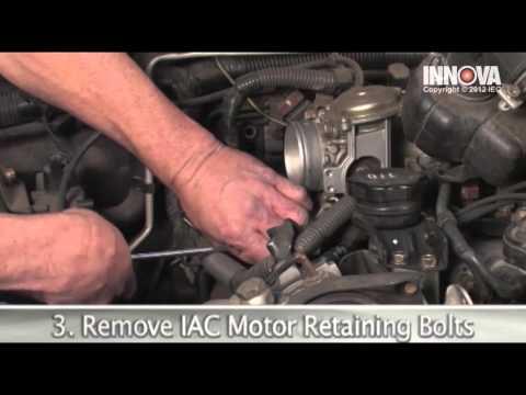 How to change Idle Air Control (IAC) Valve Motor - 2002 Mitsubishi Montero Sport