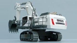 Conrad Liebherr R 9100 Mining Excavator by Cranes Etc TV