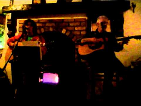 Ted Ponsonby and Tanya McCole at McGinleys Bar Letterkenny
