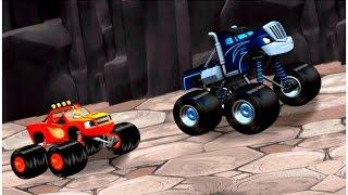 getlinkyoutube.com-Blaze and the Monster Machines games [Nick Jr games] - Dragon Island race | Kids games Universe