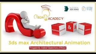 3ds max Architectural animation