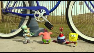 The SpongeBob Movie: Sponge Out of Water | Clip: Bicycle | Paramount Pictures International