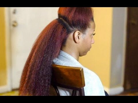 Vixen Crochet Braids Tutorial - Kanekalon Hair