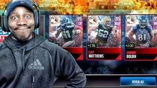 THROWBACK PACK OPENING & NEW ELITE PLAYERS! Madden Mobile 17 Gameplay Ep. 29