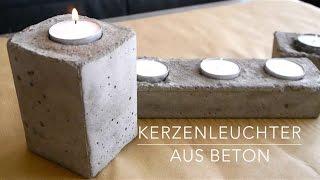 getlinkyoutube.com-DIY★ Beton Kerzenständer Anleitung Kinderleicht