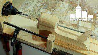 getlinkyoutube.com-Convert your rotary tool into a DIY mini lathe for modelism