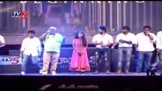 getlinkyoutube.com-Prabhas Entrance at Baahubali Audio Launch | Baahubali Theme Song | TV5 News