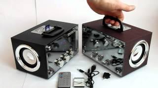Музыкальный бумбокс RX-83 & RX-81 Видеообзор от Электробума!