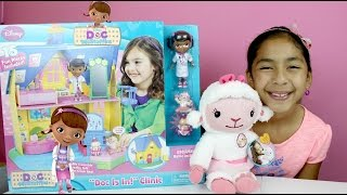 Doc McStuffins Doc Is In! Clinic *Play House* 15 Toys & Talking Figures  B2cutecupcakes