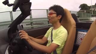getlinkyoutube.com-新型コペン(5MT)公道試乗レポート(1)突然の雨、そのときコペンは?