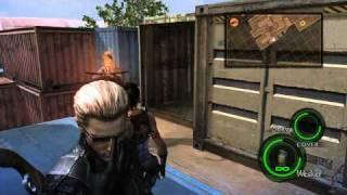 getlinkyoutube.com-Resident Evil 5 PC Mod - Wesker Learns a New Move