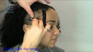 getlinkyoutube.com-Side Hair Shave with Tattoo Art of S. by Theo Knoop 2012 production