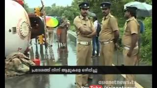 Tanker accident in Kozhikode Vadakara
