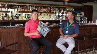 Martin & DK At Al Zorah Golf Club   Entertaining As Ever.