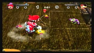 getlinkyoutube.com-Mario Strikers Charged: Mario vs. Diddy Kong (Level 5)