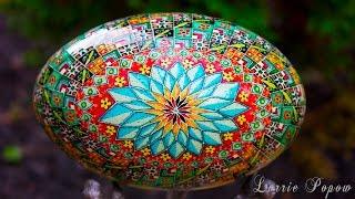 getlinkyoutube.com-Lorrie Popow - Pysanky and Batik Egg Art - Pysanka Ukrainian Easter Egg Artist