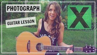 getlinkyoutube.com-Ed Sheeran - Photograph Guitar Tutorial Lesson // How to Play - Easy