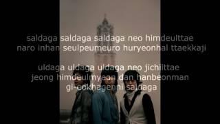 Saldaga~ SG Wannabe Lyrics width=