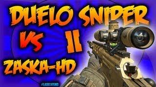 getlinkyoutube.com-Mega-Duelo Épico Sniper - Ballista | VS ZaskaHD | ¡¡¡Walbang!!! :: Black Ops 2