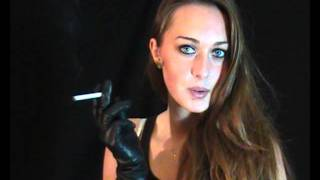 getlinkyoutube.com-Bella 8 - Smoking All Whites in Perfect Leather Outfit