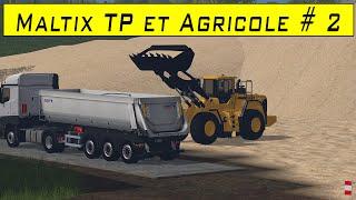 FS 15 / map Maltix tp + agricole / Episode 2 / W.I.P