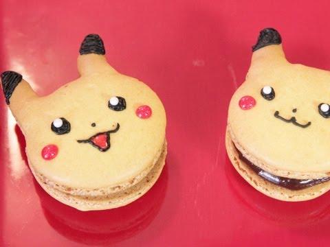 Pikachu French Macaroons - QUAKE N BAKE
