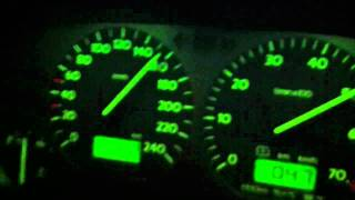 VW Golf 3 VR6 2.9 Syncro acceleration 0-190 km/h