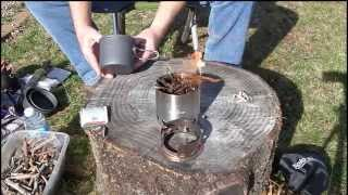 getlinkyoutube.com-Solo Stove and Coleman Solo Max cook set review