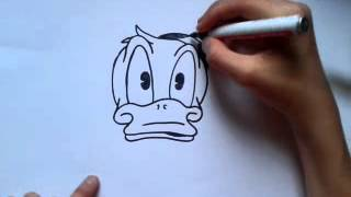 Even voorstellen + how to draw donald duck