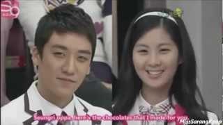 getlinkyoutube.com-Seungri and Seohyun @ SGB