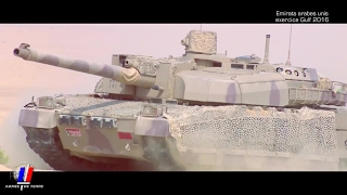 getlinkyoutube.com-French Army & UAE Army - Combined Arms Military Exercise [1080p]