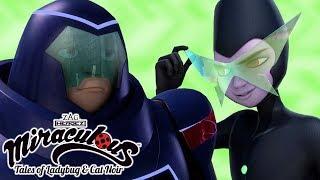 Miraculous Ladybug | 🐞 Villains - Rogercop VS Gamer | Ladybug and Cat Noir