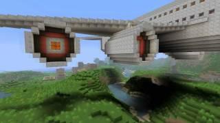 getlinkyoutube.com-Minecraft big airplane