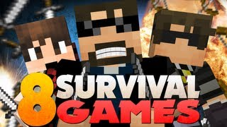 getlinkyoutube.com-Minecraft Hunger Games 8 - Official Survival Games 6 With YouTubers!