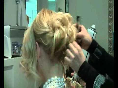 Мастер класс вечерних причесок на тонких волосах