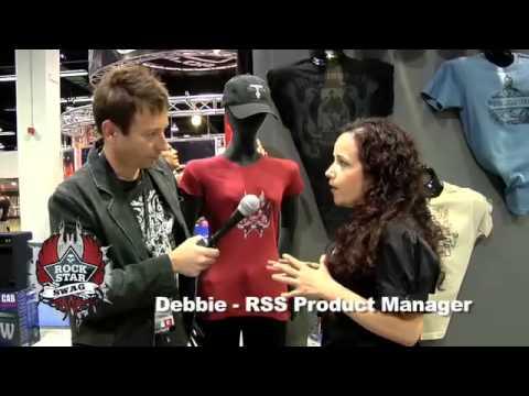 Robert Egnacheski - Rockstar Swag - Interview with Deb at NAMM 2009