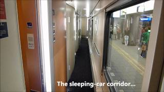 getlinkyoutube.com-A deluxe sleeper on a City Night Line overnight train