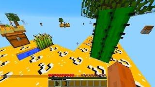 getlinkyoutube.com-Minecraft LUCKY BLOCK SKYBLOCK WARRIORS #1 with Vikkstar, BajanCanadian, Woofless & Lachlan