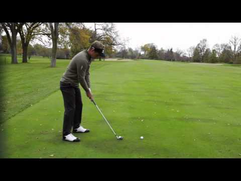 Luke Donald: Mizuno Masterclass #9 - Iron shaped to left sided pin