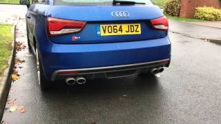getlinkyoutube.com-Audi S1 Powervalve BCS 200 Cell Downpipe