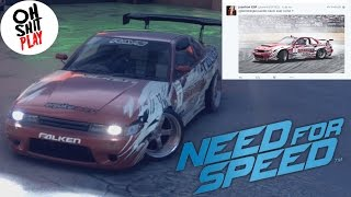 getlinkyoutube.com-Nissan 180sx @bonnieVSFRED ‹ NEED FOR SPEED 2015 › PS4