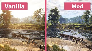 getlinkyoutube.com-The Witcher 3 – Maximum E3 Graphics Mod vs. Vanilla Graphics Comparison