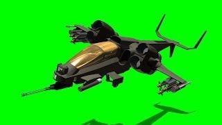 getlinkyoutube.com-VTOL Warship fly by  green screen