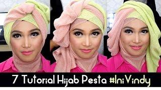 getlinkyoutube.com-7 Tutorial Hijab Pesta dan Wisuda Inivindy