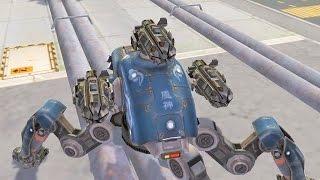 getlinkyoutube.com-War Robots [1.9] Test Server - NEW improved SMS Hydra