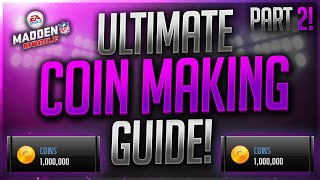 getlinkyoutube.com-The ULTIMATE Coin Making Guide! Part 2! Make Millions FAST In Madden Mobile 17!